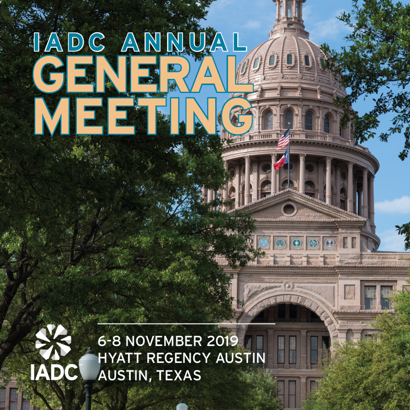 IADC Annual General Meeting - IADC - International Association of